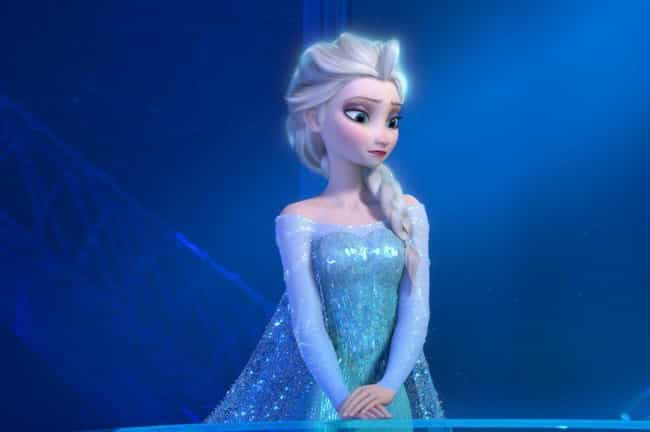 Elsa is listed (or ranked) 1 on the list The Prettiest Hair In Modern Animation