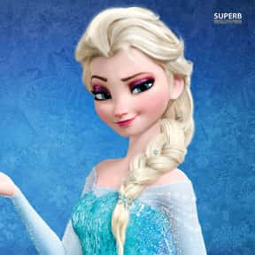 Elsa is listed (or ranked) 8 on the list The Best Disney Princesses