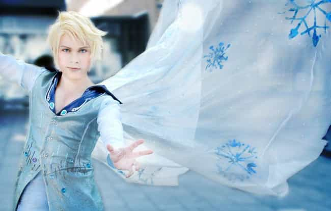 Elsa is listed (or ranked) 3 on the list Genderbent Disney Characters That Will Make You Do A Double-Take