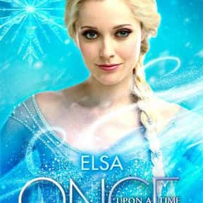 Elsa is listed (or ranked) 21 on the list The Best Once Upon a Time Characters