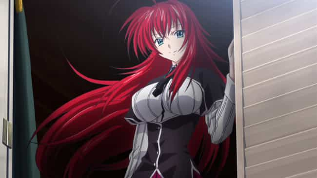 Rias Gremory Is Listed Or Ranked 4 On The List Female Anime Characters You