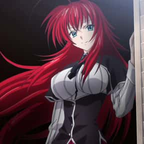 Rias Gremory is listed (or ranked) 1 on the list The Most Attractive Anime Girls of All Time