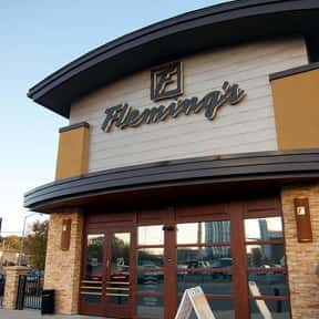 Fleming's Prime Steakhouse & W is listed (or ranked) 6 on the list The Best High-End Restaurant Chains