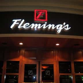 Fleming's Prime Steakhouse & W is listed (or ranked) 18 on the list The Best Steakhouses in Los Angeles
