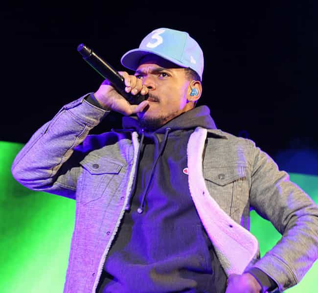 Chance The Rapper is listed (or ranked) 1 on the list Celebrity Men Who Are Way Younger Than You Think