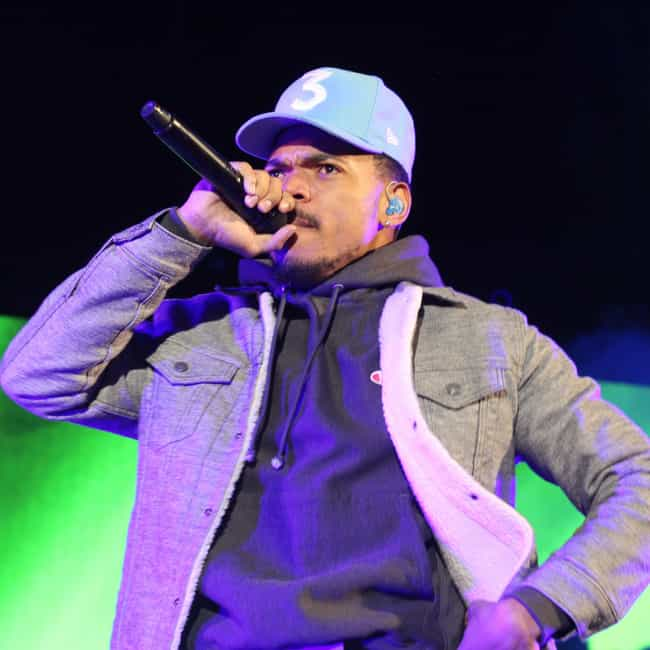 Chance The Rapper is listed (or ranked) 2 on the list 25 Rappers Who Are Aries