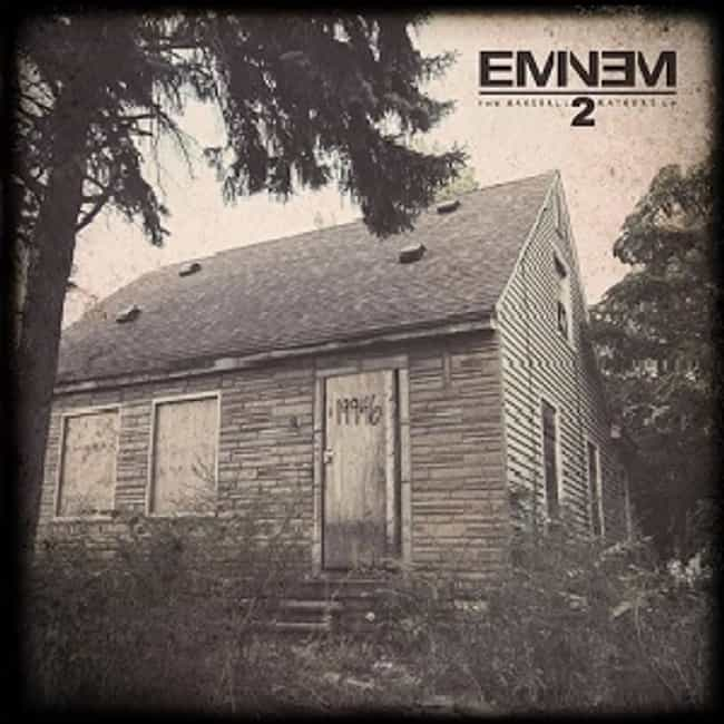 The Marshall Mathers LP 2 is listed (or ranked) 4 on the list The Best Eminem Albums of All Time