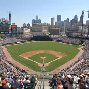 Comerica Park is listed (or ranked) 25 on the list The Best MLB Ballparks