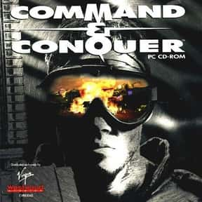 Command & Conquer series is listed (or ranked) 1 on the list The Best Real-Time Strategy Games of All Time
