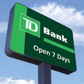 TD Bank, N.A. is listed (or ranked) 16 on the list Companies Headquartered in New Jersey