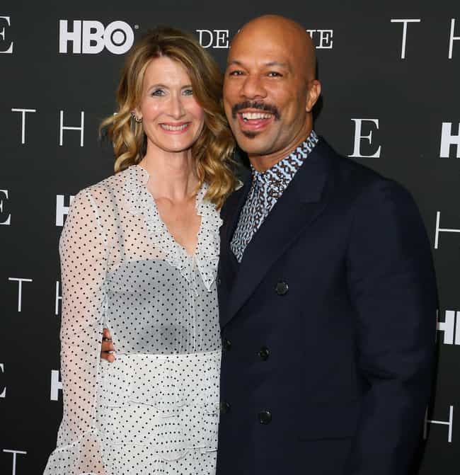 Common is listed (or ranked) 2 on the list Laura Dern Loves and Hookups