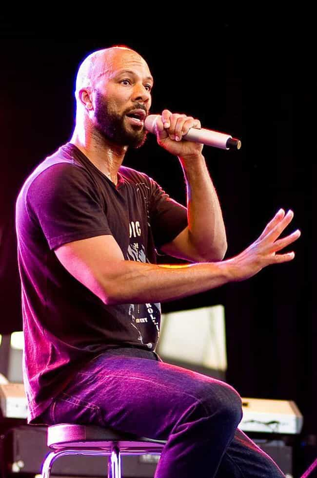 Common is listed (or ranked) 2 on the list Rappers Who Have No Tattoos