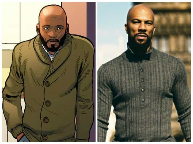 Common is listed (or ranked) 1 on the list Who Should Be in a Miles Morales Spider-Man Film?
