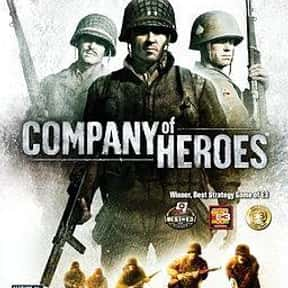 Company of Heroes is listed (or ranked) 14 on the list The Best Real-Time Strategy Games of All Time