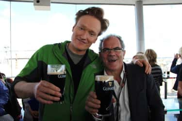 Conan O'Brien is listed (or ranked) 2 on the list TV Personalities You'd Want to Play Drinking Games With