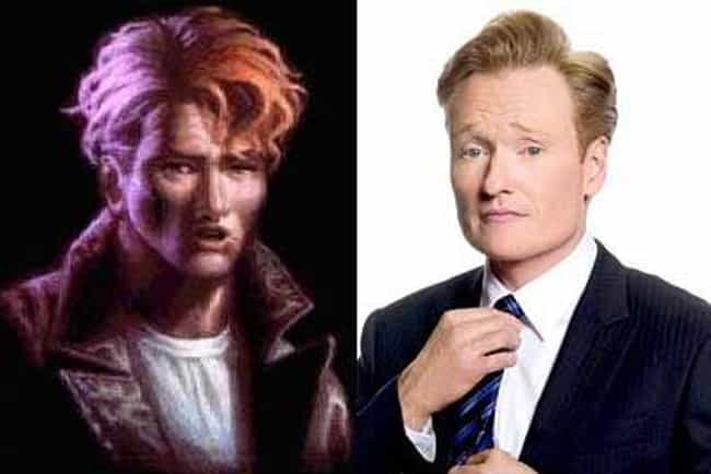 Conan O'Brien is listed (or ranked) 3 on the list 26 Celebrities Who Look Just Like Video Game Characters