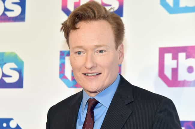 Conan O'Brien is listed (or ranked) 2 on the list The Most Outrageous Celebrity Tweets of 2015