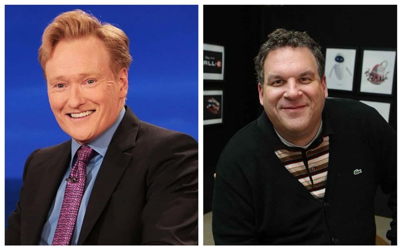 Conan O'Brien & Jeff Garlin is listed (or ranked) 2 on the list Celebrities Who Were Once Roommates
