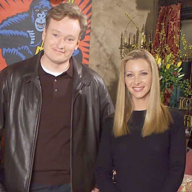 Conan O'Brien is listed (or ranked) 2 on the list Lisa Kudrow Loves and Hookups