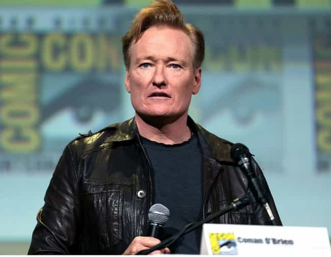 Conan O'Brien is listed (or ranked) 2 on the list 50+ Celebrities Who Went to Harvard