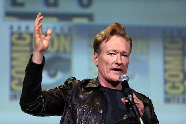 Conan O'Brien is listed (or ranked) 3 on the list 20 Celebrities Who Went to Ivy League Schools