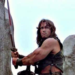 Conan the Barbarian is listed (or ranked) 24 on the list Movie Tough Guys Without Super Powers or a Super Suit