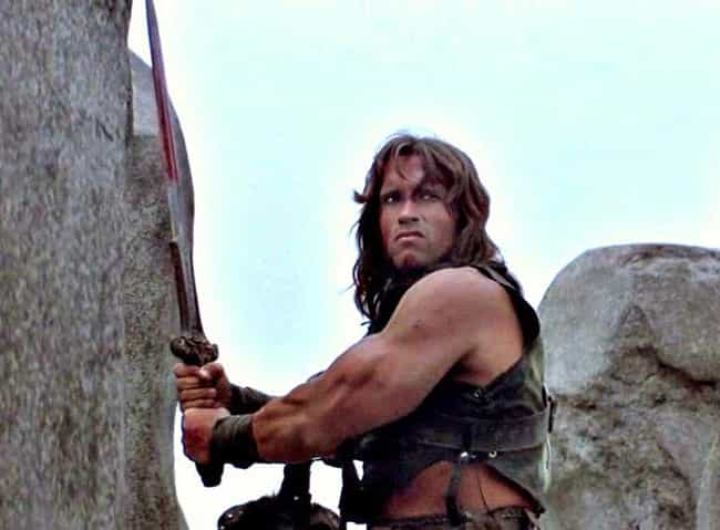 Conan the Barbarian is listed (or ranked) 4 on the list The Most Powerful Arnold Schwarzeneggers In Arnold Schwarzenegger History