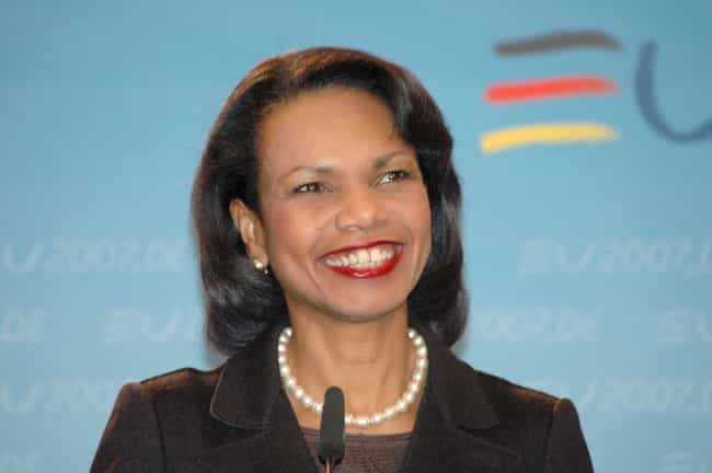 Condoleezza Rice is listed (or ranked) 1 on the list Famous African-American Women Who Are Republican