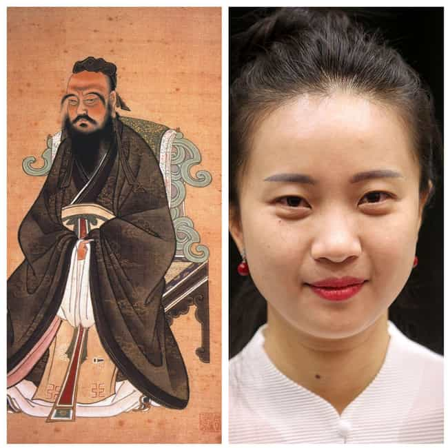 Confucius is listed (or ranked) 3 on the list Modern Descendants Of Historical Figures Who Work In The Same Field