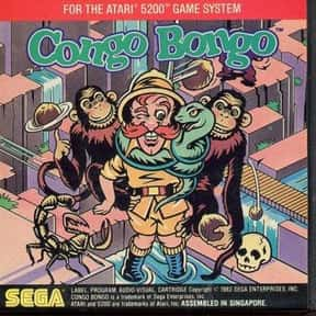 Congo Bongo is listed (or ranked) 17 on the list List of Sega Platform Games