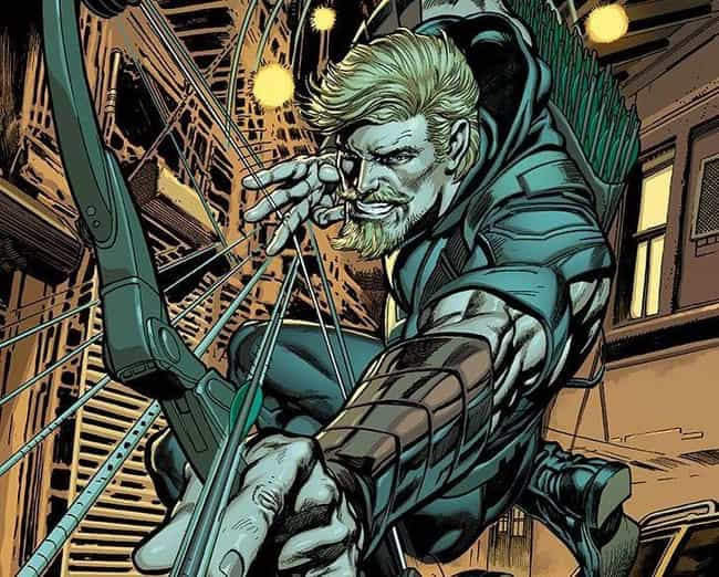 Green Arrow is listed (or ranked) 4 on the list Popular Comic Book Characters Who Probably Vote Democrat