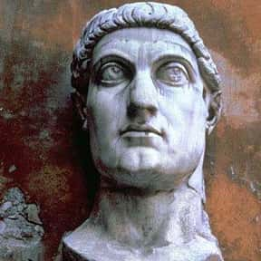Constantine the Great is listed (or ranked) 23 on the list The Most Important Leaders In World History
