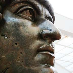 Constantine the Great is listed (or ranked) 23 on the list The Most Important Military Leaders in World History