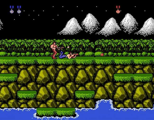 Contra is listed (or ranked) 4 on the list 20 Classic NES Games That Are So Mind-Numbingly Difficult They're Practically Unbeatable