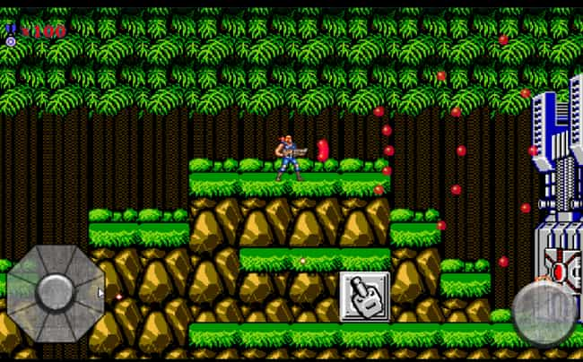 Contra is listed (or ranked) 1 on the list 15 Classic Nintendo Games You Forgot You Loved