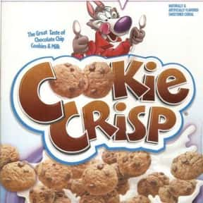Cookie Crisp is listed (or ranked) 5 on the list The Best Chocolate Cereal