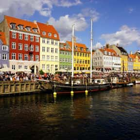 Copenhagen - 55°40'N is listed (or ranked) 8 on the list All Global Cities, Listed North to South