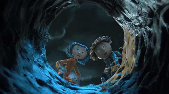 Coraline is listed (or ranked) 4 on the list Scary Movies You Saw As A Kid That Still Terrify You As An Adult