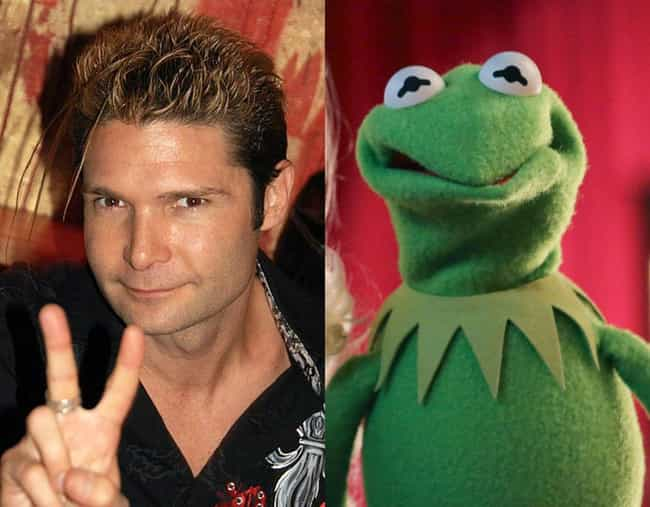 Corey Feldman is listed (or ranked) 3 on the list Child Stars Who Grew Up to Look Like Muppets