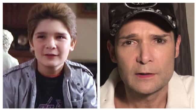 Corey Feldman is listed (or ranked) 2 on the list The Cast Of The Goonies: Where Are They Now?