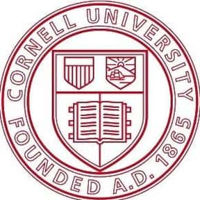 Cornell University is listed (or ranked) 16 on the list The Best Colleges for Aerospace Engineering