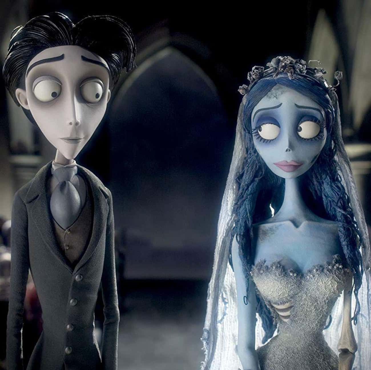 Corpse Bride is listed (or ranked) 2 on the list The Best Horror Movies With Weddings, Ranked