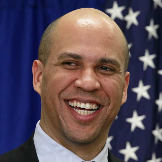 Cory Booker is listed (or ranked) 2 on the list Dream Running Mates Hillary Should Consider