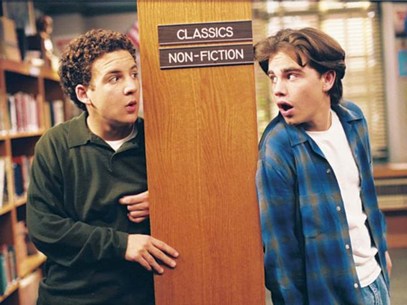Cory Matthews & Shawn Hunter is listed (or ranked) 1 on the list The Greatest Sets of BFFs in All of '90s TV