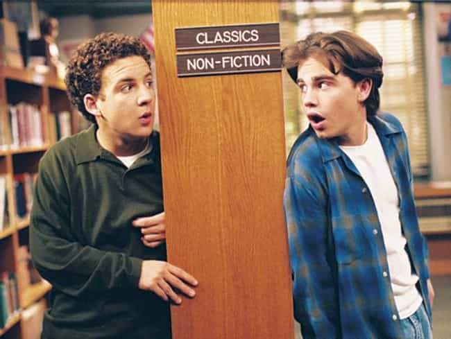 Cory Matthews is listed (or ranked) 2 on the list The Greatest Sets of BFFs in All of '90s TV