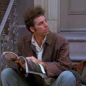 Cosmo Kramer is listed (or ranked) 14 on the list Which Sitcom Character Would You Want to Quarantine With?