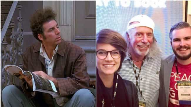 Cosmo Kramer is listed (or ranked) 2 on the list 29 Popular TV Characters Who Were Based on Real People