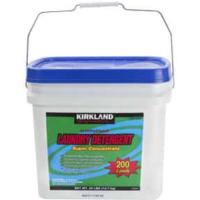 Costco is listed (or ranked) 13 on the list The Best Detergent Brands