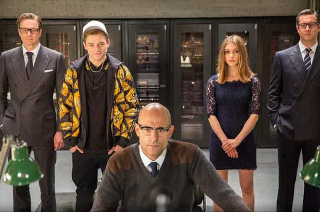 Kingsman: The Secret Service is listed (or ranked) 1 on the list The Best Live-Action Comic Book Adaptations Of The Decade Not From Marvel Or DC, Ranked