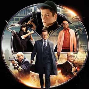 Kingsman: The Secret Service is listed (or ranked) 15 on the list The Best R-Rated Action Comedies